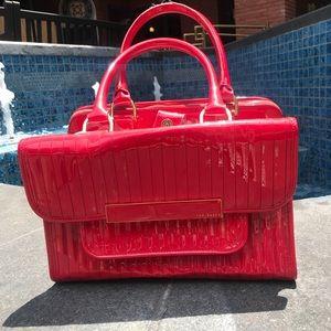 8a9dec9e517f Ted Baker Bags - Ted Baker Red Enamel Flap Pocket Bag
